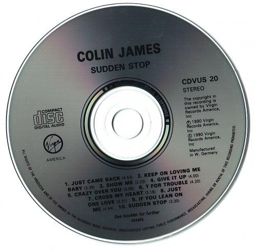 Colin James - Sudden Stop (1990)