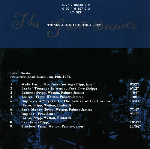 King Crimson - The Great Deceiver (1973-1974) (4CD) (1982)
