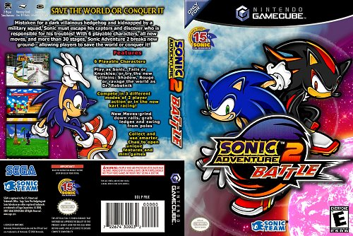 Sonic Adventure II Battle