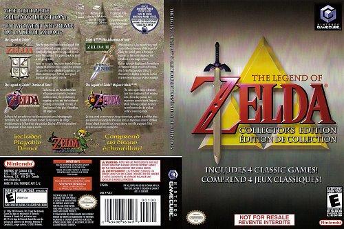 Legend Of Zelda Collectors Edition