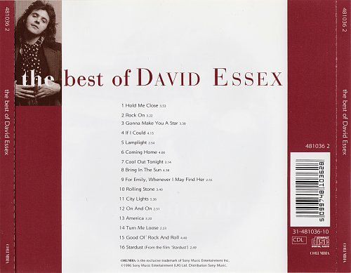David Essex - The Best Of David Essex 1973 - 1977 (1996)