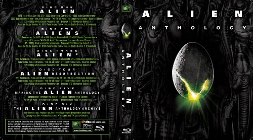 Чужие 1-4 / Alien Anthology (15mm) (1979/1986/1992/1997)