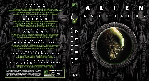Чужие 1-4 / Alien Anthology (22mm) (1979/1986/1992/1997)