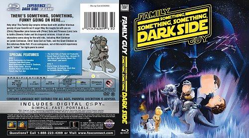 Гриффины: Там, там на тёмной стороне / Family Guy: Something, something, something dark side (2009)