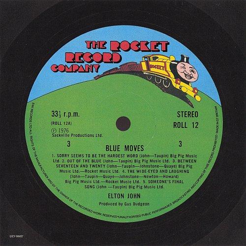 Elton John - Blue Moves (1976) - Paper sleeve reissue, Japan