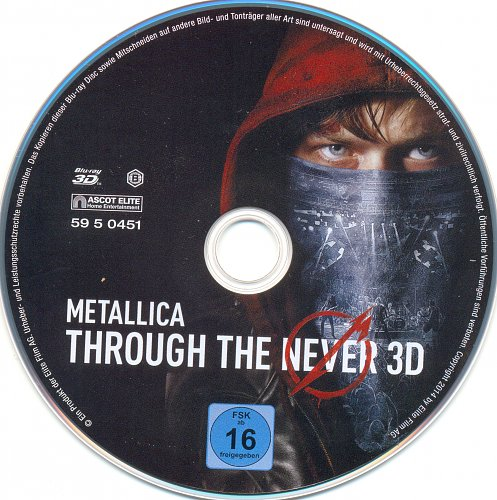 Metallica: Сквозь невозможное 3D / Metallica: Through the Never (2013)