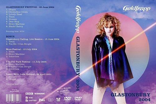 Goldfrapp - Glastonbury Festival (2004)