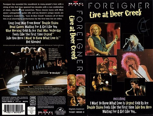 Foreigner - Live At Deer Creek (1994)
