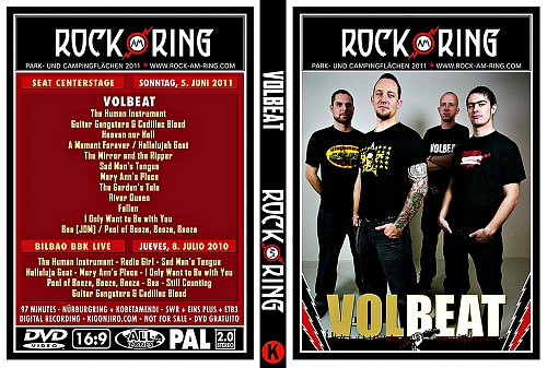 Volbeat - Rock Am Ring (2010)
