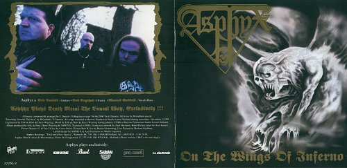 Asphyx - On The Wings Of Inferno (2000) [2000, Century Media, 77263-2, Germany]