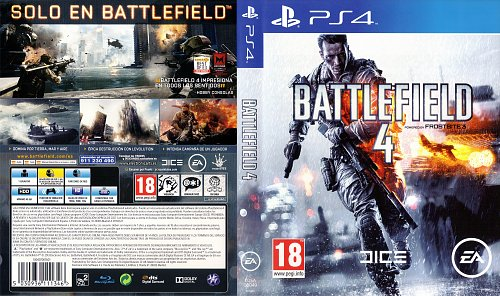 Battlefield 4 / PAL / Cover