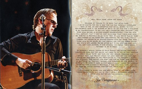 Joe Bonamassa - An Acoustic Evening At The Vienna Opera House (2014)
