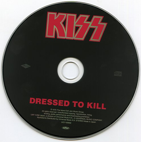 Kiss - Dressed To Kill (1975)
