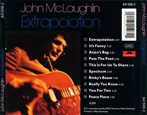 John McLaughlin - Extrapolation (1991)