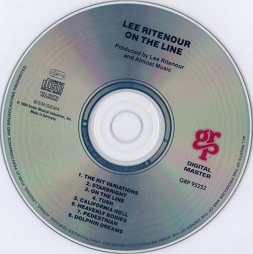 Lee Ritenour - On the Line (1983/1985)