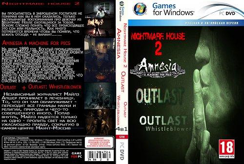 4в1  Outlast+Outlast Whistleblower