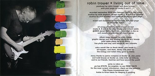 Robin Trower - Living Out Of Time (2003)