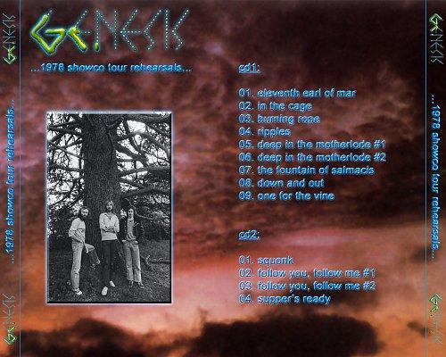 Genesis - ...1978 showco tour rehearsals... (Dallas, Texas, 26.03.1978) 2CD