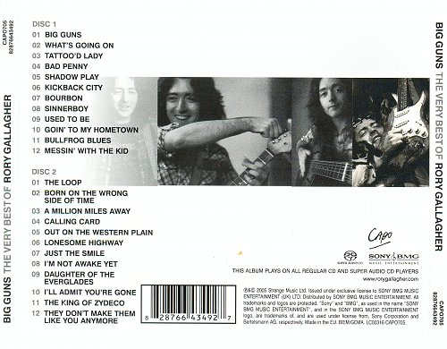 Rory Gallagher - Big Guns.The Very Best Of Rory Gallagher (2005)