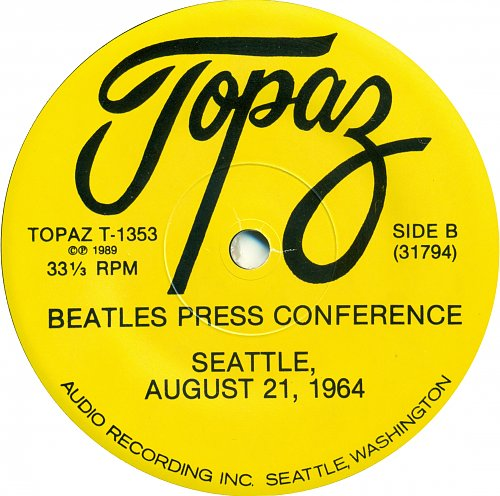 The Beatles - Beatles Press Conference Seattle August 21st, 1964 (1989)