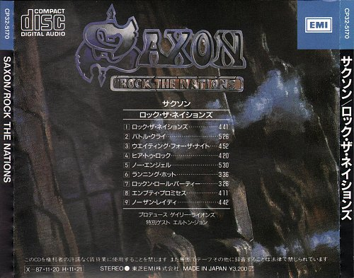 Saxon - Rock The Nations (1986)