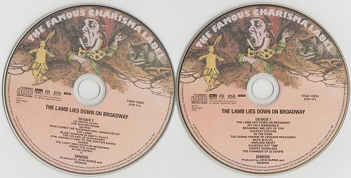 Genesis - The Lamb Lies Down On Broadway (1974)