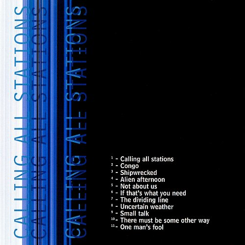 Genesis - ...Calling All Stations... (1997 Virgin Records, Holland, EU)