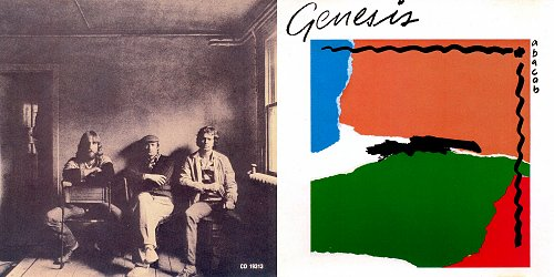 Genesis - Abacab (1981 Atlantic, Warner Communications Company, WEA Music Of Canada)