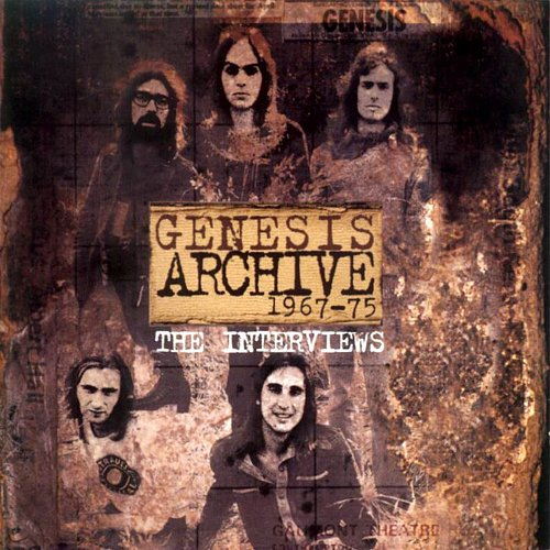 Genesis - Genesis Archive 1967-75 The Interviews Double CD Set (1998 Virgin Records, EU)