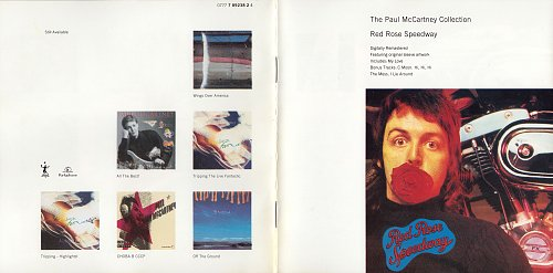 Paul McCartney & Wings  - Red Rose Speedway (1973)