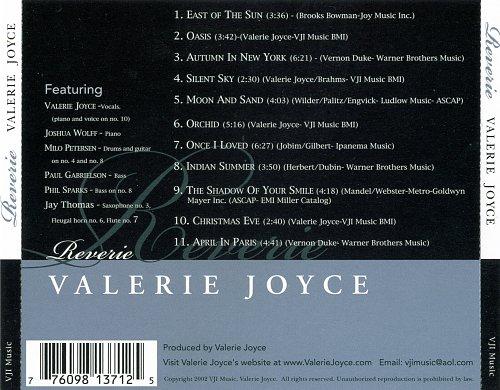 Valerie Joyce - Reverie (2002)