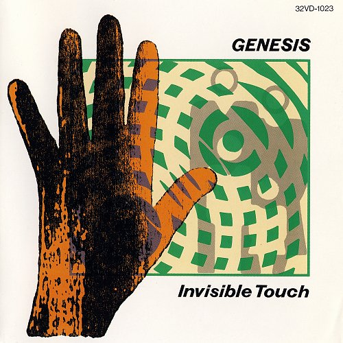 Genesis - Invisible Touch (1986 Virgin/Charisma Records; Toshiba EMI, Japan)