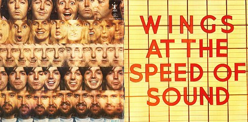 Paul McCartney & Wings - Wings At The Speed Of Sound (1976)