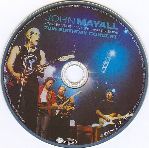 John Mayall & The Bluesbreakers and Friends - 70th Birthday Concert (2003)