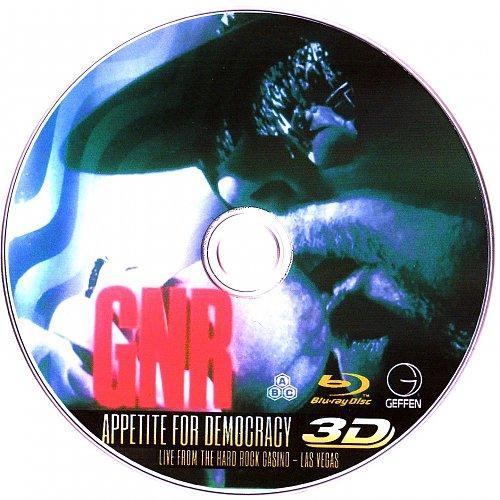 Guns N' Roses: Appetite for Democracy – Live at the Hard Rock Casino, Las Vegas (disc)