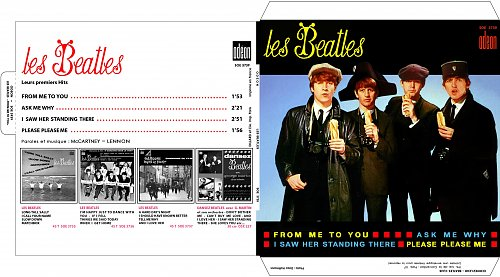 The Beatles - From Me To You (France) SOE 3739 - 1964