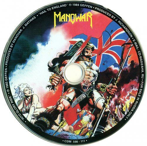 Manowar - Into Glory Ride/ Hail To England (Russia) 2000