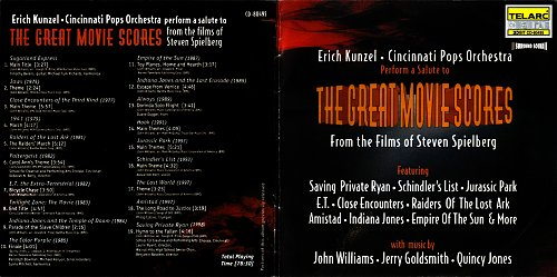Erich Kunzel & Cincinnati Pops Orchestra - The Great Movie Scores (1999)