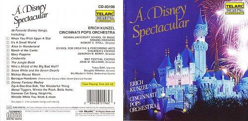Erich Kunzel & Cincinnati Pops Orchestra - A Disney Spectacular (1989)