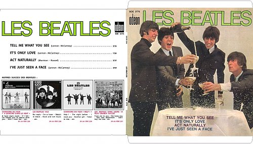 The Beatles - Tell Me What You See (France) SOE 3775 - 1965