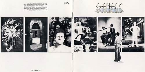 Genesis - The Lamb Lies Down On Broadway (1974 Virgin, 1985 Charisma; 1988 Virgin Japan) 2CD