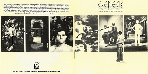 Genesis - The Lamb Lies Down On Broadway (1974/1987 ATCO Records, Atlantic, Warner Com. Co. USA) 2CD
