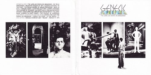 Genesis - The Lamb Lies Down On Broadway (1974, 2007 Virgin/Charisma, EU) 2CD/SACD+DVD