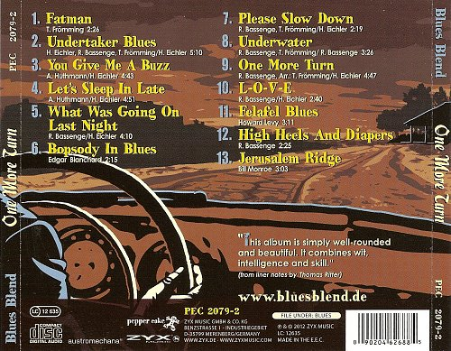 Blues Blend - One More Turn (2012)