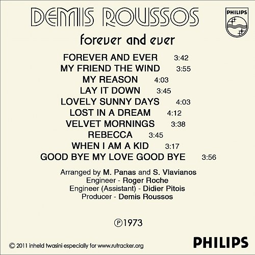 Demis Roussos - Forever And Ever (1973)