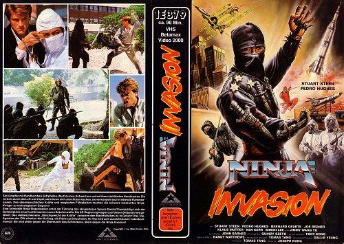 Ninja Invasion /  Громовой ниндзя 1987