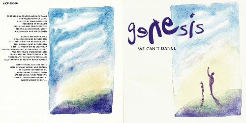 Genesis - We Can't Dance (1991 Virgin, Virgin Japan)
