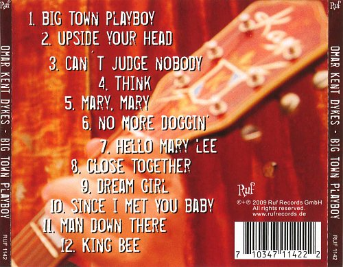 Omar Kent Dykes & Jimmie Vaughan - Big Town Playboy (2009)