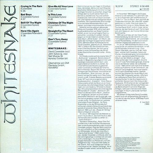 Whitesnake - 1987 [1987]