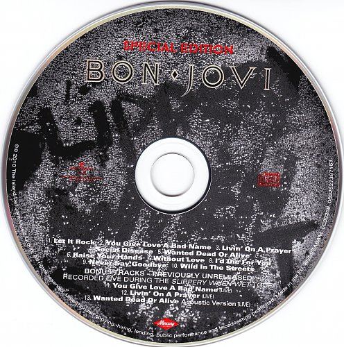 Bon Jovi-Slippery When Wet (Special Edition 2010)